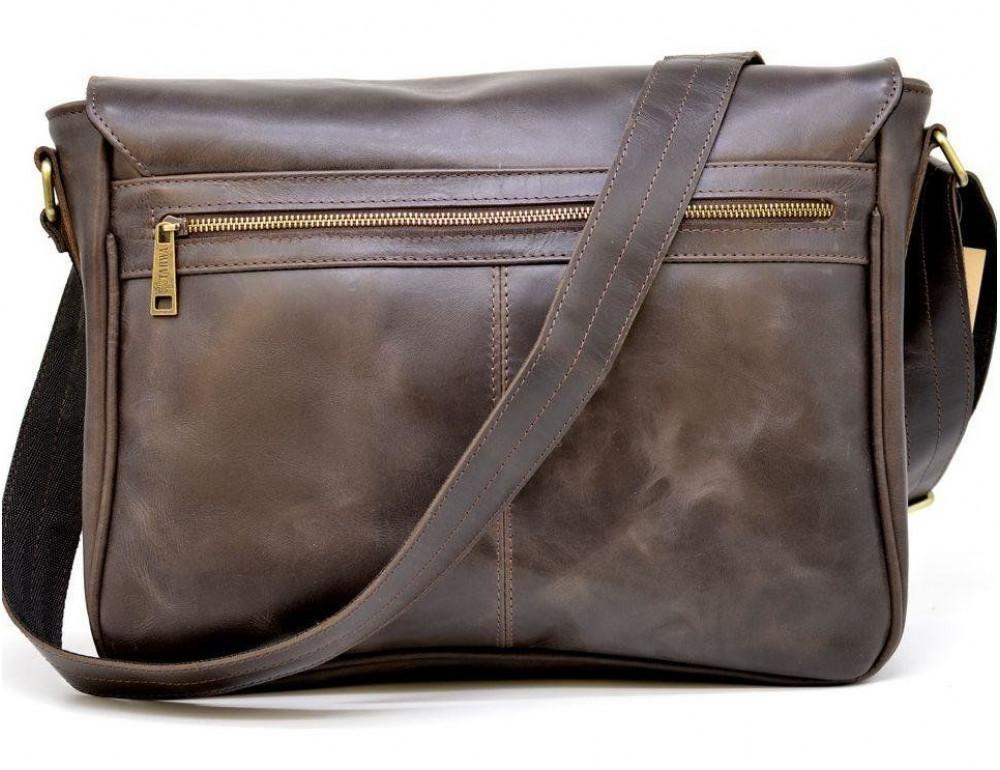 Коричневая вместительная сумка через плечо TARWA TC-1047-3md - Фото № 3