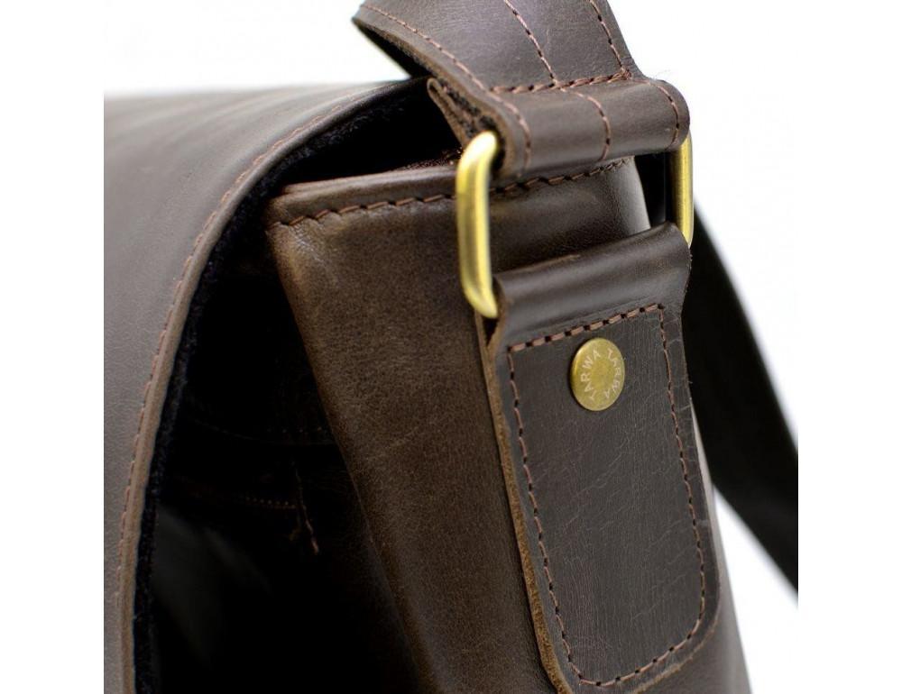 Коричневая вместительная сумка через плечо TARWA TC-1047-3md - Фото № 5