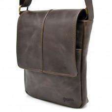 Мужская кожаная сумка-мессенджер  A5 TARWA TC-1301-3md