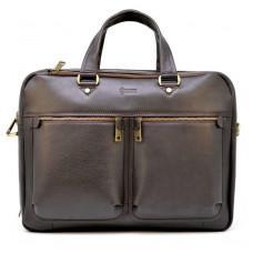 Стильний коричневий портфель TARWA TC-4664-4lx