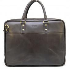 Мужской кожаный портфель TARWA TC-4766-4lx коричневый