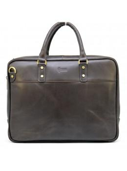 Чоловік шкіряний портфель TARWA TC-4766-4lx коричневий