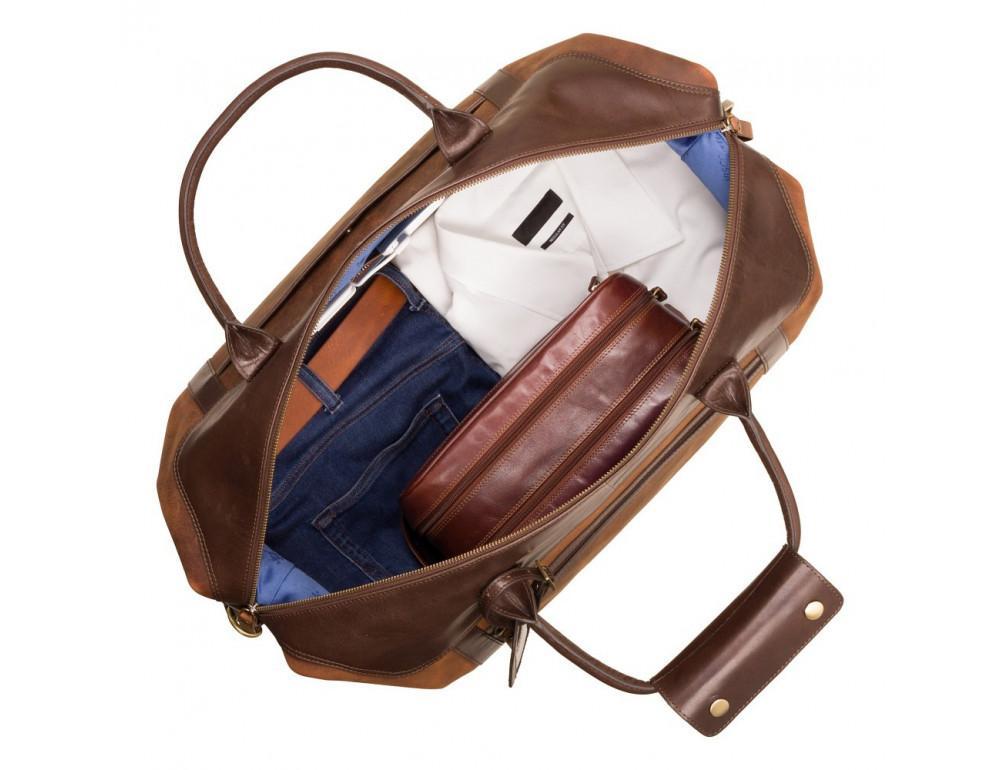 Коричневая дорожная сумка Visconti TC152 Voyager - Фото № 2