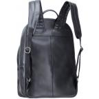Чёрный кожаный рюкзак мужской Visconti TC80 BLK - Фото № 101