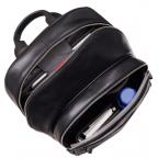 Чёрный кожаный рюкзак мужской Visconti TC80 BLK - Фото № 104