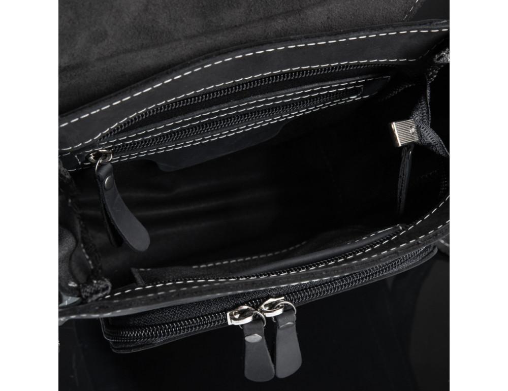 Мужская сумка через плечо TIDING BAG tid3027 - Фото № 5