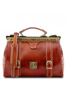 Шкіряний саквояж маленького розміру Tuscany Leather TL10034 Med