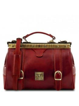 Червоний маленький саквояж Tuscany Leather TL10034 Red