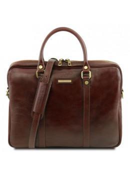 Жіночий шкіряний портфель Tuscany Leather TL141283 Brown