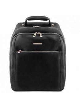 Большой мужской рюкзак из кожи Tuscany Leather TL141402 Black
