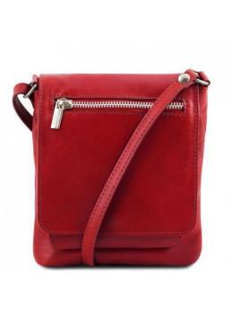 Красная женская сумочка через плечо Tuscany Leather TL141510 Red