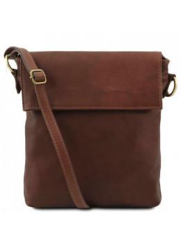 Коричневая сумка через плечо Tuscany Leather TL141511 Brown