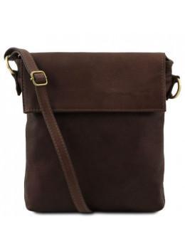 Тёмно-коричневая сумочка через плечо Tuscany Leather TL141511 Dark Coffe