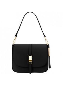 Маленькая женская сумочка через плечо Tuscany Leather TL141598 Black