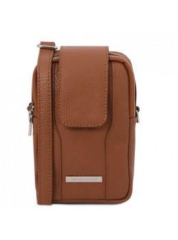 Коричневая сумочка чехол женская Tuscany Leather TL141698 Brown