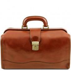 Кожаный мужской саквояж светло-коричневого цвета Tuscany Leather TL141852 Med