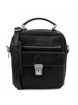Чёрная мужская сумка с ручкой Tuscany Leather TL141978 Black