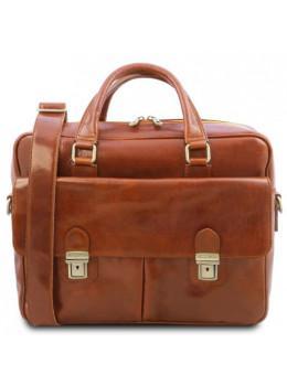 Мужской кожаный портфель SAN MINIATO Tuscany Leather TL142026 Med
