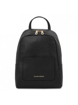Стильний жіночий шкіряний рюкзак Tuscany Leather TL142052 Black