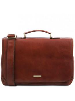 Мужской кожаный портфель MANTOVA Tuscany Leather TL142068 Brown