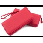 Красный кожаный кошелёк с ремнём Marco Coverna TRW8575R - Фото № 100
