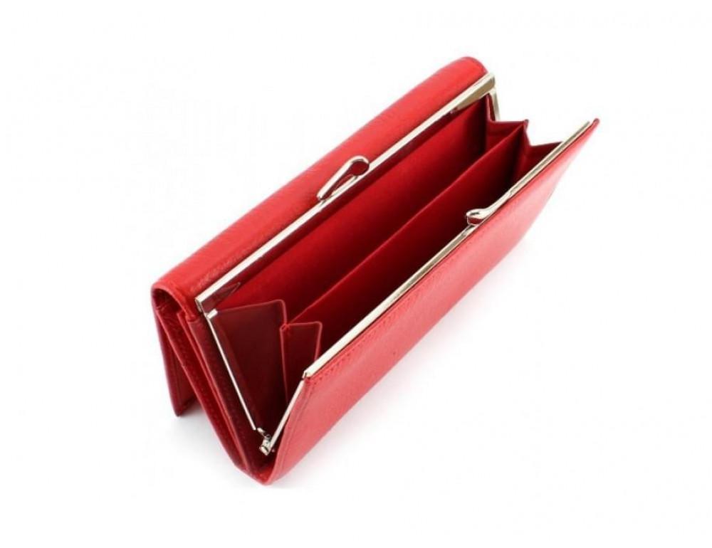 Красный женский кожаный кошелёк Marco coverna MC-1412-2 - Фото № 3