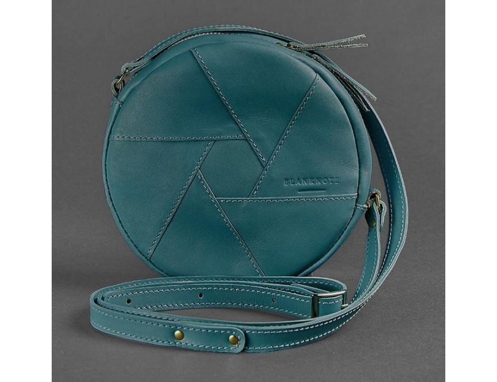 Кожаная сумка Бон-бон Малахит BN-BAG-11-malachite Темно-зеленый - Фото № 1