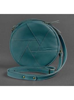 Кожаная сумка Бон-бон Малахит BN-BAG-11-malachite Темно-зеленый