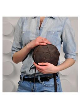 Кожаная сумка Бон-бон Малахит BN-BAG-11-o коричневый