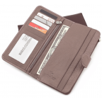 Пудровый кожаный кошелёк Marco Coverna MC031-950-6 - Фото № 102