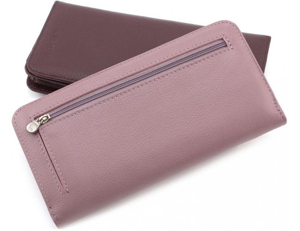 Пудровый кожаный кошелёк Marco Coverna MC031-950-6 - Фото № 4