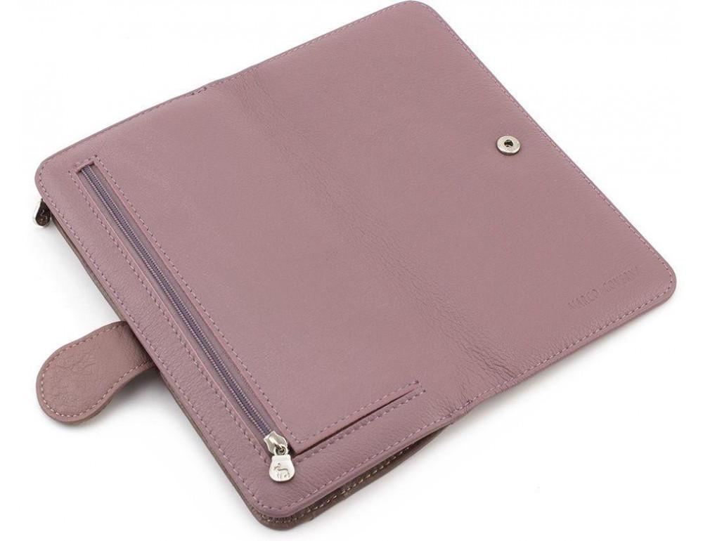 Пудровый кожаный кошелёк Marco Coverna MC031-950-6 - Фото № 6