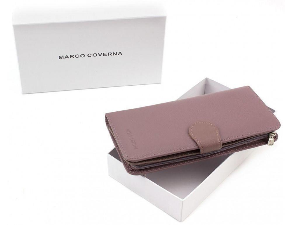 Пудровый кожаный кошелёк Marco Coverna MC031-950-6 - Фото № 7