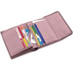 Пудровый кожаный кошелёк на магните Marco Coverna MC-2047A-6 - Фото № 101