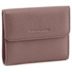 Пудровый кожаный кошелёк на магните Marco Coverna MC-2047A-6 - Фото № 100