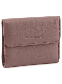 Пудровый кожаный кошелёк на магните Marco Coverna MC-2047A-6