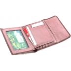 Пудровый кожаный кошелёк на магните Marco Coverna MC-2047A-6 - Фото № 103