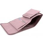 Пудровый кожаный кошелёк на магните Marco Coverna MC-2047A-6 - Фото № 104