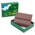 Пудровый кожаный кошелёк на магните Marco Coverna MC-2047A-6 - Фото № 105
