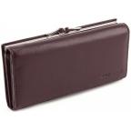 Тёмно-коричневый кожаный кошелёк Marco coverna MC-1412-8 - Фото № 100