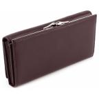 Тёмно-коричневый кожаный кошелёк Marco coverna MC-1412-8 - Фото № 102