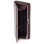 Тёмно-коричневый кожаный кошелёк Marco coverna MC-1412-8 - Фото № 103