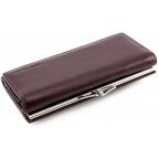 Тёмно-коричневый кожаный кошелёк Marco coverna MC-1412-8 - Фото № 104