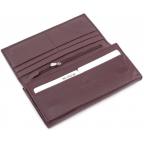 Тёмно-коричневый кожаный кошелёк Marco coverna MC-1412-8 - Фото № 105