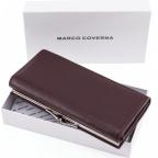 Тёмно-коричневый кожаный кошелёк Marco coverna MC-1412-8 - Фото № 108
