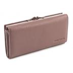 Бледно-розовый женский кожаный кошелёк Marco coverna MC-1412-6 - Фото № 100
