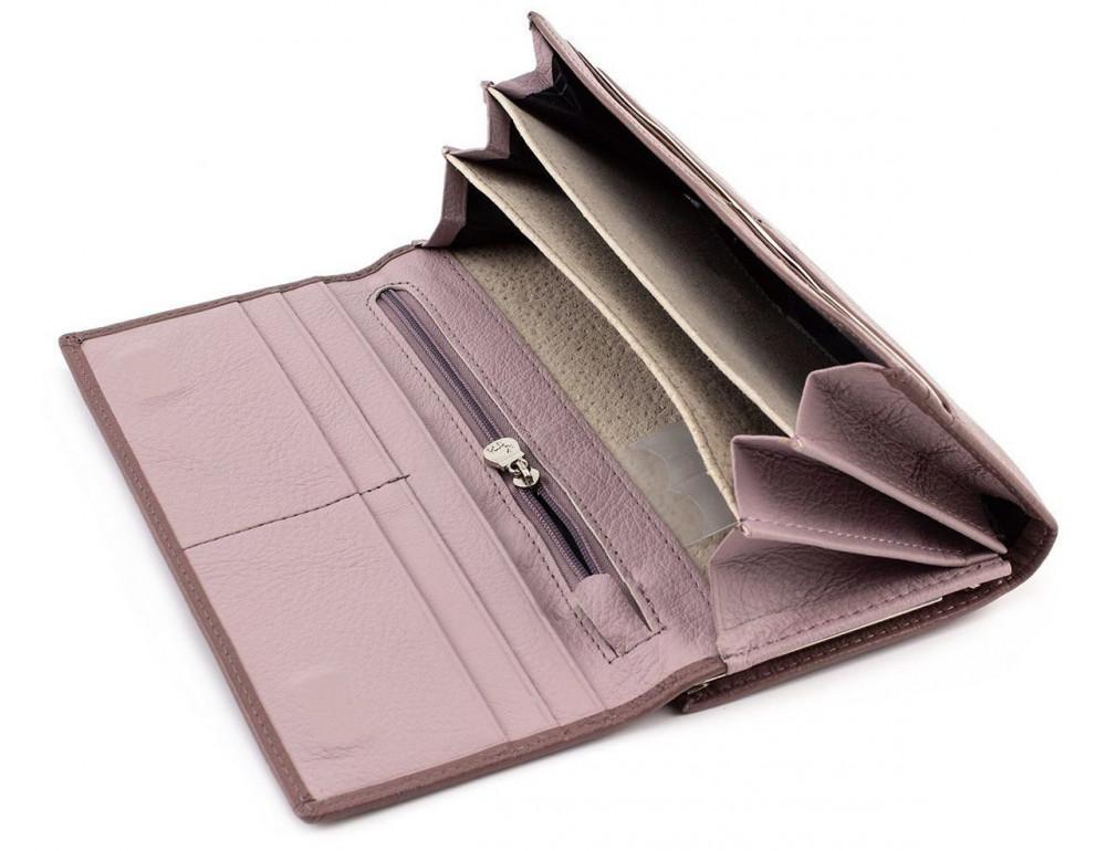 Бледно-розовый женский кожаный кошелёк Marco coverna MC-1412-6 - Фото № 3