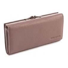 Блідо-рожевий жіночий шкіряний гаманець Marco coverna MC-1412-6