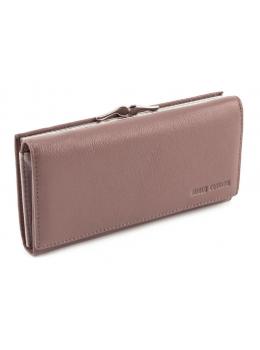Бледно-розовый женский кожаный кошелёк Marco coverna MC-1412-6