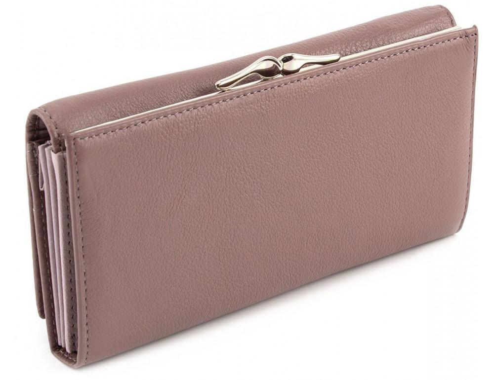 Бледно-розовый женский кожаный кошелёк Marco coverna MC-1412-6 - Фото № 4